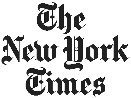 the new york times logo dark