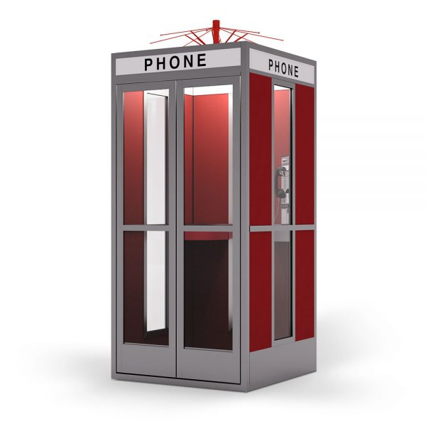 Bill & Ted phone booth Cubicall
